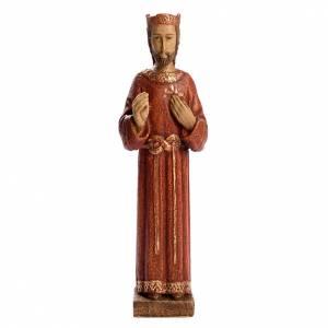 Statue in legno dipinto: Sacro cuore di Gesù