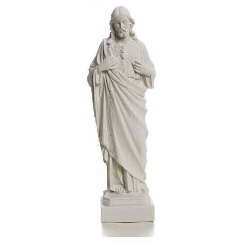 Sacro Cuore Gesù in polvere di marmo s4