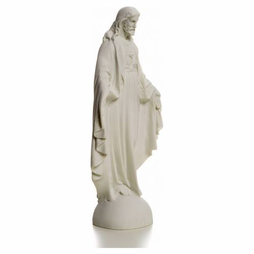 Sagrado Corazón de Jesús 25cm mármol s2