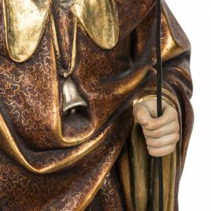 Saint Anthony the Great statue 60cm in wood paste, extra finish s5