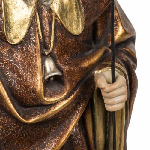 Saint Antoine Abbé 60 cm pâte à bois s5