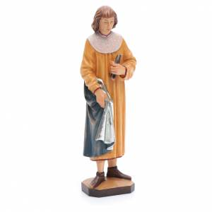 Saint Côme avec forceps 25 cm bois peint Valgardena s4