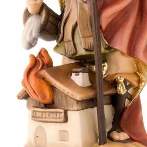 Saint Florian de Lorch, statue bois s3