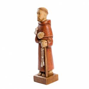 Hand painted wooden statues: Saint Francis