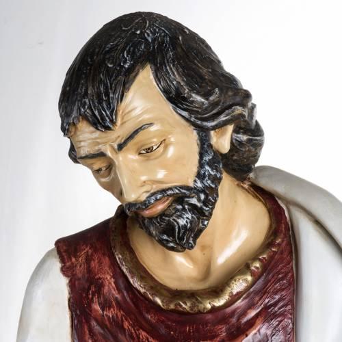 Saint Joseph crèche 180 cm résine Fontanini s2