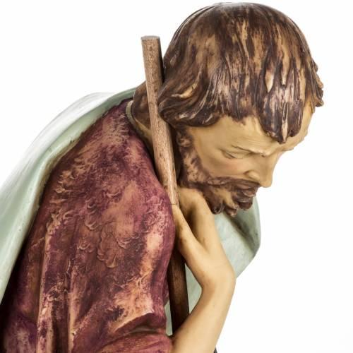 Saint Joseph crèche Fontanini 85 cm résine s5