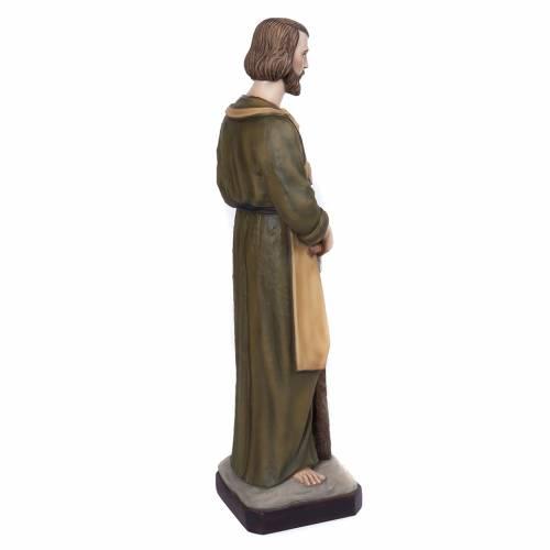 Saint Joseph the Carpenter,  fiberglass statue, 80 cm s6