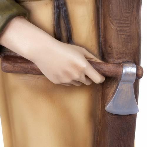 Saint Joseph the Carpenter,  fiberglass statue, 80 cm s5