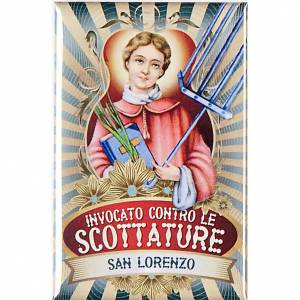 Saint Lorenzo badge, lux s1