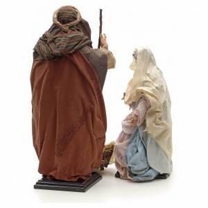 Sainte Famille terre cuite crèche Napolitaine 45 cm s3