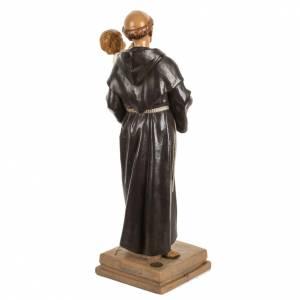 San Antonio de Padua 40 cm. estatua resina Fontanini s5