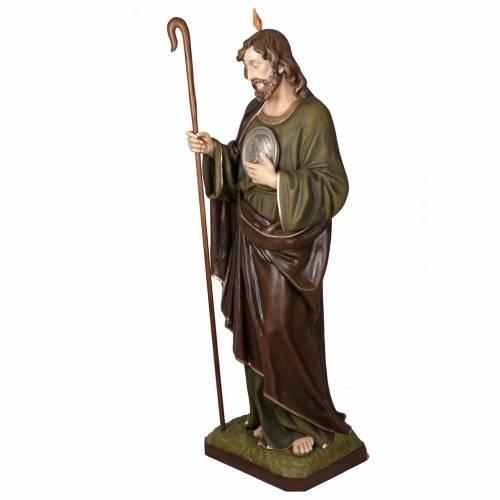 San Judas Tadeo 160cm en fibra de vidrio s5