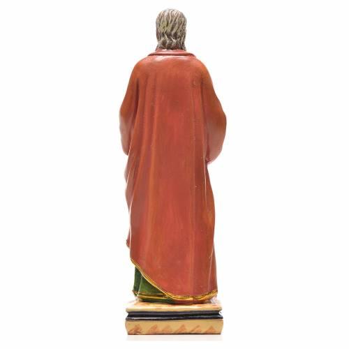 San Pablo 12cm con imagen y oración en Ingles s2