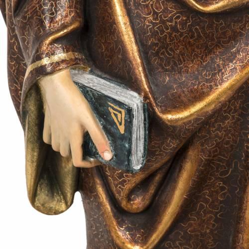 Sant'Antonio Abate 60 cm pasta di legno finitura extra s3