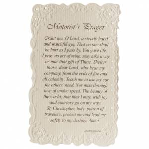 Santino Saint Christopher con preghiera (inglese) s2