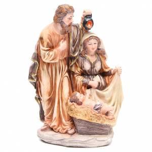 Scène Nativité résine h 30 cm s1