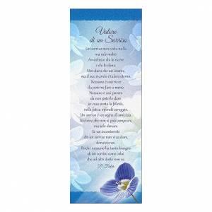 Segnalibro: Segnalibro carta perlata Orchidea - Valore di un sorriso 15x5 cm