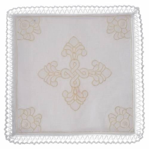 Servizio da altare lino e cotone con amitto s1