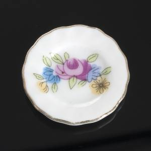 Servizio da thè porcellana miniatura presepe s4