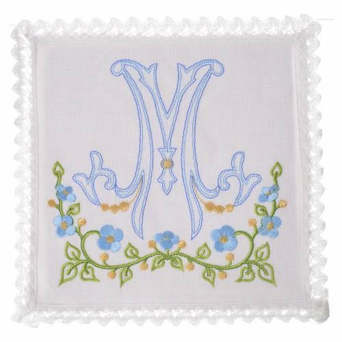 Set linge d'autel 100% lin M marial s1