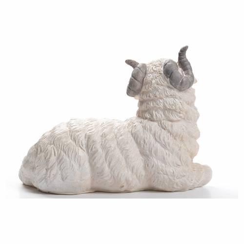 Sheep nativity figurine in resin 50cm s3