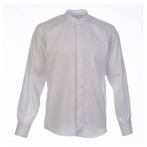 Shirt to wear under cassock covered shirt collar long sleeve s1
