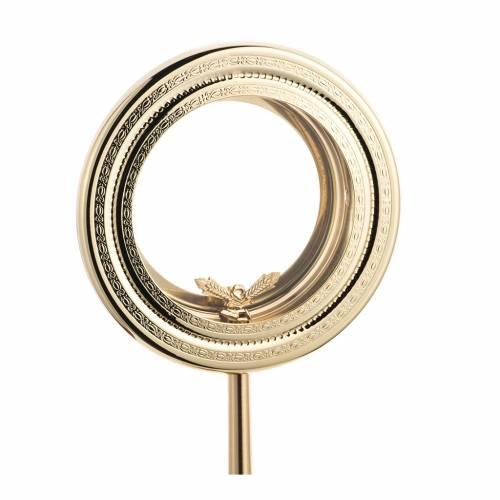 Shrine for Magna Host, simple in brass H46cm s3