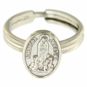 Prayer rings: Silver ring Our Lady of Fatima