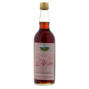 Infusions et tisanes: Sirop, infusion, pétales de rose. Abbaye Finalpia 700 ML