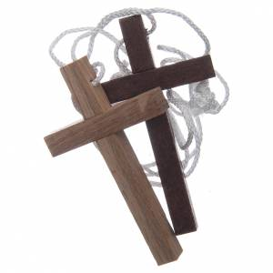 Wooden cross pendants: Small cross for First Communion and Confirmation