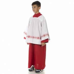 Soutanelle servant d'autel rouge s3