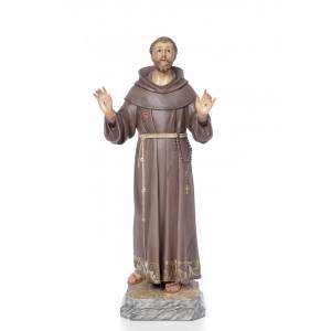 St François de Assisi 80 cm fin. élégante s1
