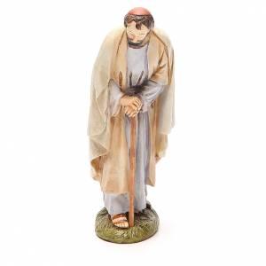St Joseph en résine peinte 16 cm gamme Martino Landi s1