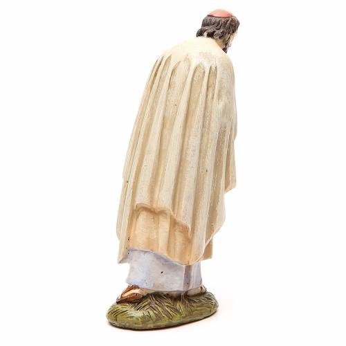 St Joseph en résine peinte 16 cm gamme Martino Landi s2