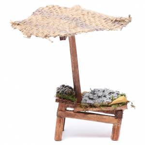 Miniature food: Stall with fish