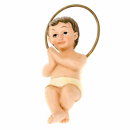 Gesù Bambino piccolo resina cm 6 1