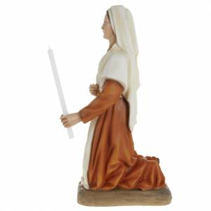 Statua Santa Bernadette fiberglass 63 cm s4
