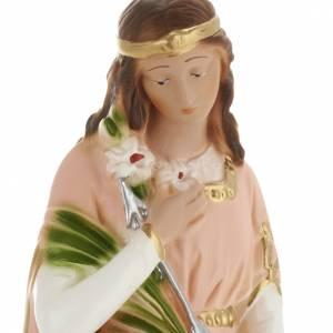 Statua Santa Filomena 30 cm gesso s2
