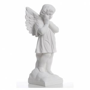 Statue en marbre Ange habillé 40 cm s4