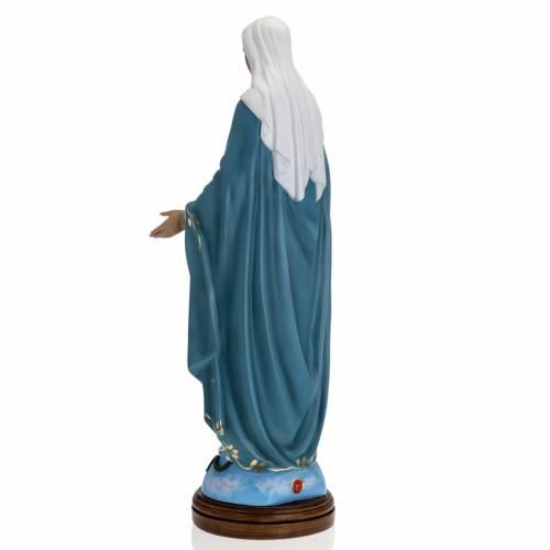 Statue Immaculée 60 cm fibre de verre yeux cristal Landi s6