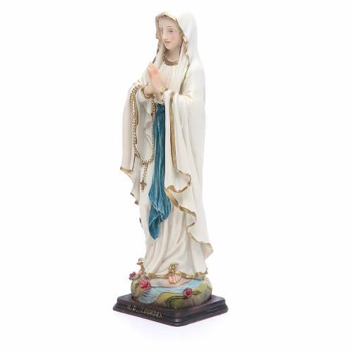 Statue Notre-Dame de Lourdes 20,5 cm résine s2