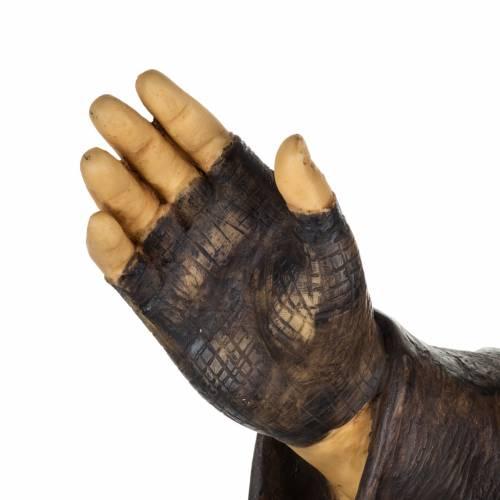 Statue Père Pio 100 cm résine Fontanini s4