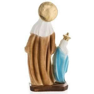 Statue St Anne de Caserta plâtre 30 cm s5