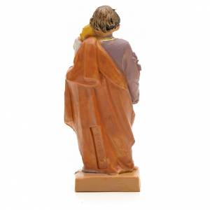 Statue St Joseph à l'enfant 7 cm Fontanini s2