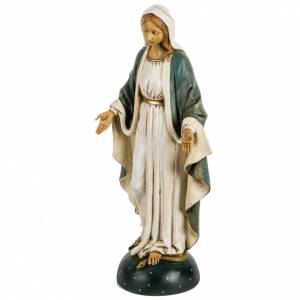 Statuen aus Harz und PVC: Statue Unbefleckte Jungfrau Maria 50cm, Fontanini