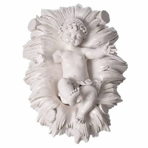 Stock Nacimiento 125 cm resina Fontanini acabado Carrara s8