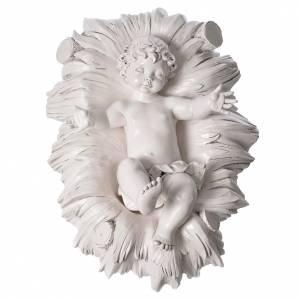 STOCK Nativité 125 cm résine Fontanini fin. Carrare s8