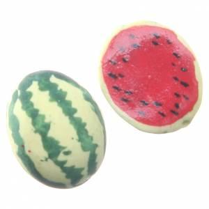 Miniature food: STOCK watermelon 2pieces for DIY nativities