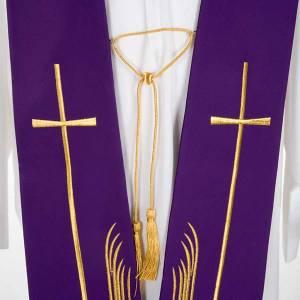 Priesterstolen: Stola Hirsche und Kreuz