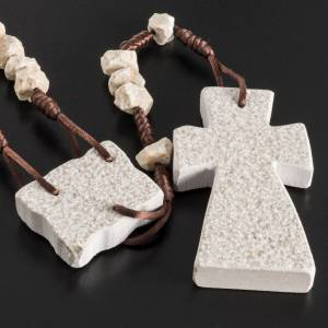 Stone chaplet with Resurrected Christ s5